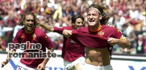 2000-01 Roma-Parma scudetto Totti, Batistuta PR