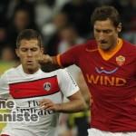 Francesco Totti e Jeremy Menez PR