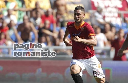 Roma-Cagliari Aleandro Rosi PR