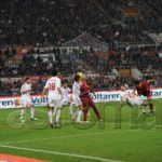Roma - Milan Fine Primo Tempo 1 - 2