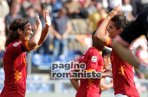 esultanza Osvaldo Lamela Roma-Palermo PR