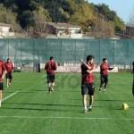 28 11 allenamento Roma