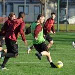 28- 11 allenamento Roma