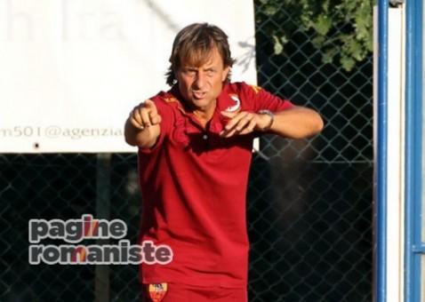 Alberto De Rossi allenatore Primavera PR
