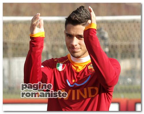 Gianluca Caprari Coppa Italia Primavera Roma-Milan PR