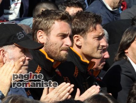Totti De Rossi campo Di Bartolomei PR
