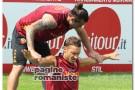 Allenamenti Roma – Totti e Osvaldo in campo, assente Stekelenburg