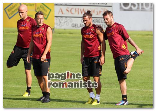 Bradley Totti Osvaldo De Rossi PR