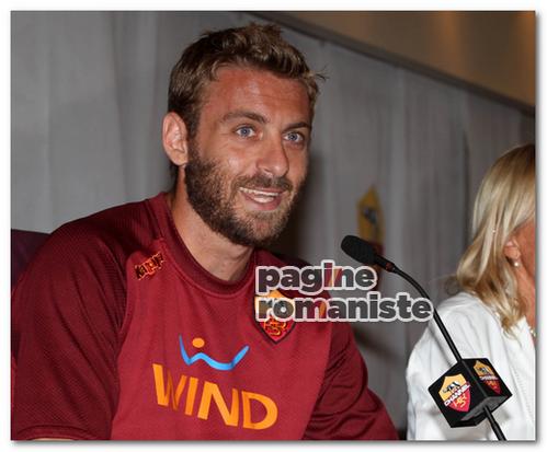 Daniele De Rossi Conferenza stampa PR