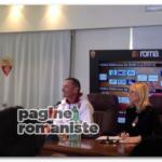 Andreazzoli conferenza Trigoria PR