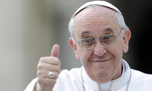 Giocatori Roma e San Lorenzo dal Papa