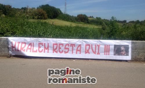 striscione_Trigoria_Pjanic_Roma