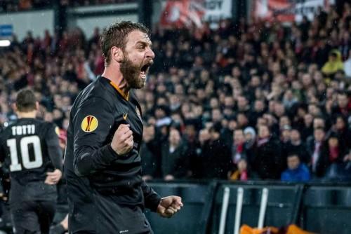 Feyenoord Rotterdam vs AS Roma