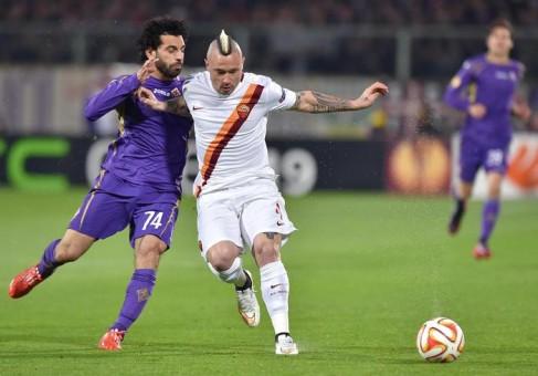 Soccer: Europa League; Fiorentina-Roma