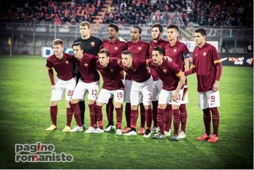 roma-manchester-primavera-squadra