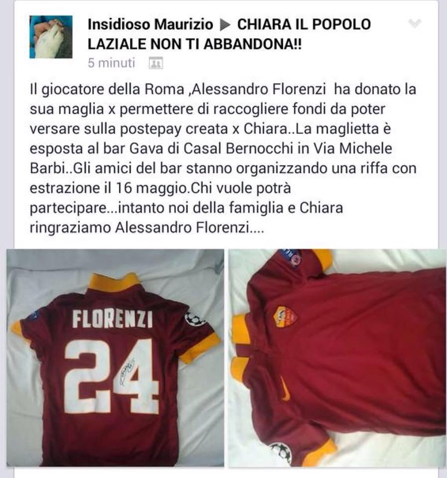 Maglia Home ROMA ALESSANDRO FLORENZI