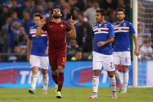 roma-sampdoria-salah gol