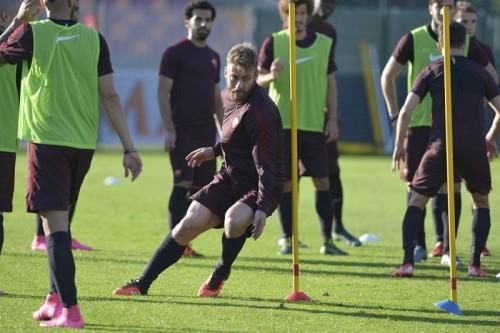 derossi allenamento roma