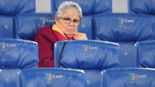 Lutto in casa Roma: è morta Maria Sensi, moglie dell'ex presidente Franco