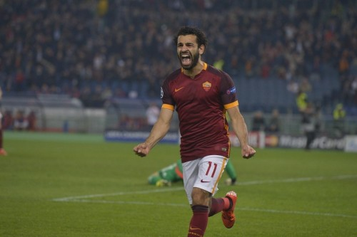 roma-bayer-salah 1 gol esultanza0
