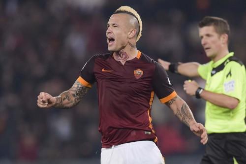-roma-inter-nainggolan gol esultanza