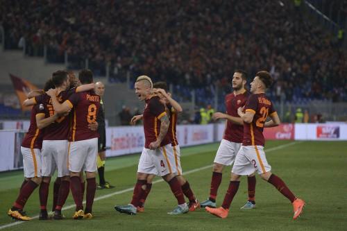 roma_fiorentina-salah pjanic perotti nainggolan el shaarawy manolas gol esultanza