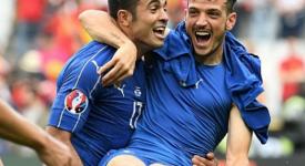 """Florenzi: """"Abbiamo colpito la Spagna nei loro punti deboli. Abbiamo dato il 120% tutti. Adesso festeggiamo, ma da domani piedi a terra e testa bassa per la Germania"""""""