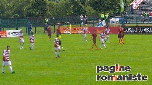Roma, il Pinzolo Campiglio viene travolto (16-0). Poker di Dzeko