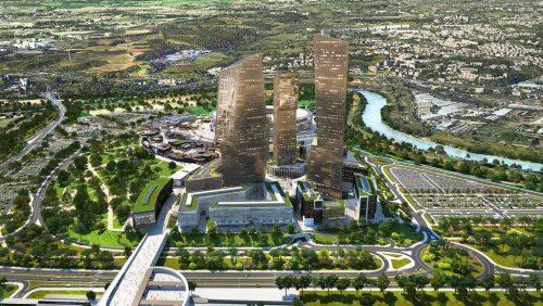 Roma_Tor_di_Valle_Libeskind_4-stadio della roma torri grattacieli