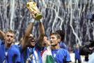 Il 9 luglio di 10 anni fa Totti, De Rossi e Perrotta sul tetto del mondo