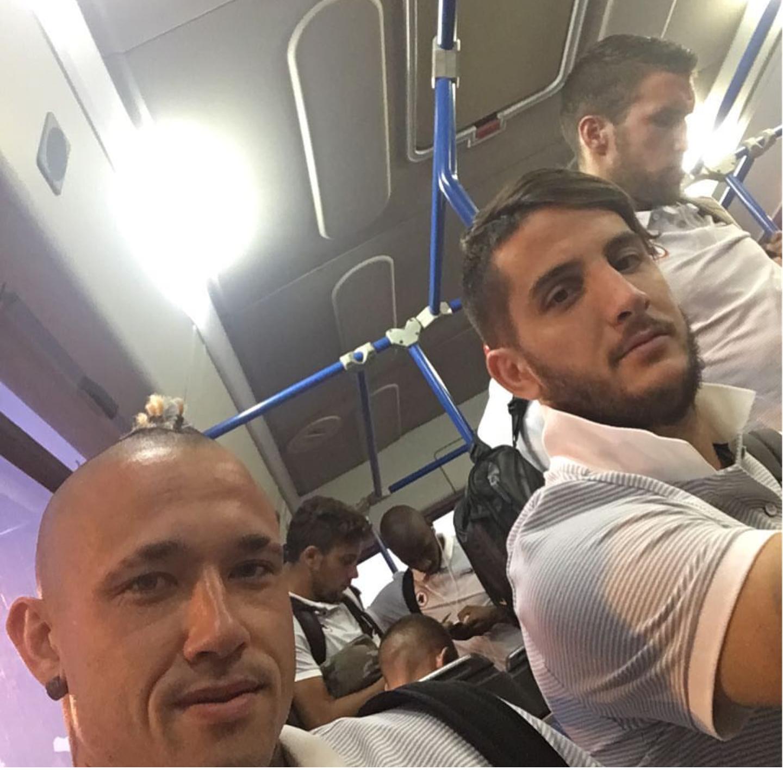 """Nainggolan: """"Sempre bello tornare a Cagliari"""" –  FOTO"""