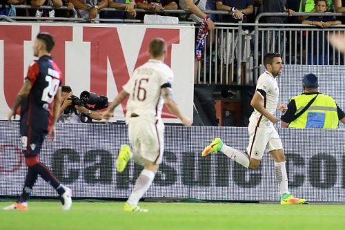 Cagliari - Roma 2-2, telecronaca di Carlo Zampa 28/08/2016