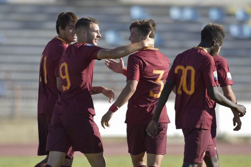 apoel-roma-primavera-youth-league-9tumminello-soleri-pellegrini-diallo-gol-esultanza