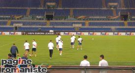 Allenamento Astra Giurgiu. Rifinitura atletica e tattica sul prato dell'Olimpico in vista della Roma. Partitella a campo ridotto  – FOTO e VIDEO