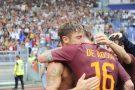 La Roma celebra le 1001 partite con la maglia giallorossa di Totti e De Rossi