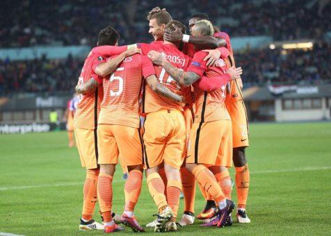 Sassuolo 1-3 Roma: doppio Dzeko e Nainggolan, Roma seconda