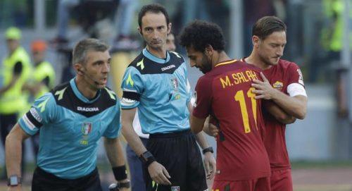Roma, la nostalgia di Totti per Salah: