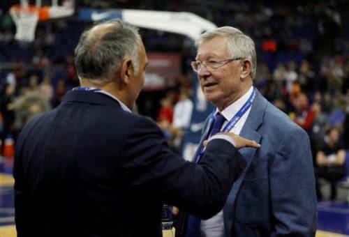 Alex Ferguson Storico Allenatore Del Manchester United Sar A Roma Insieme Al Presidente James Pallotta Per Assistere Match Di Ritorno Dei Quarti