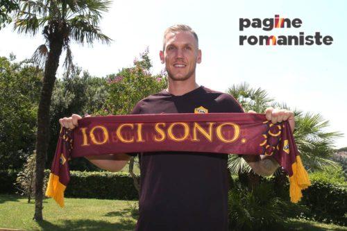 d13d41c1ca Il nuovo portiere della Roma, Robin Olsen, ha parlato con il sito svedese  aftonbladet.se, dopo la giornata di visite mediche che si è conclusa con la  firma ...