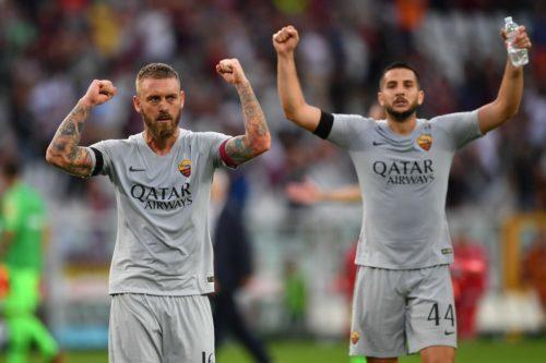 Torino-Roma, De Rossi e lo strano caso della fascia