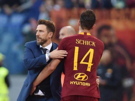 Calciomercato Roma, Schick in partenza: Lipsia in vantaggio