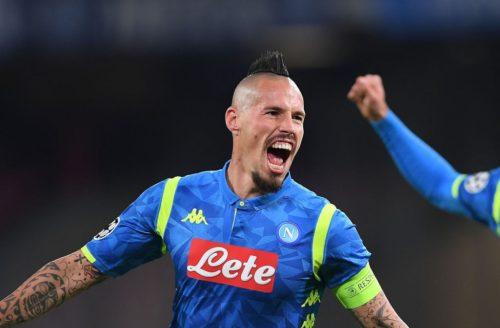 Calciomercato Roma, i giallorossi provano lo scambio Pastore-Hamsik